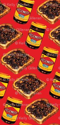 Vegemite & Toast Pattern