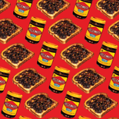 Vegemite & Toast Pattern