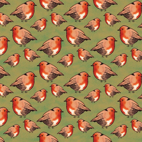 ROBIN BIRD PATTERN