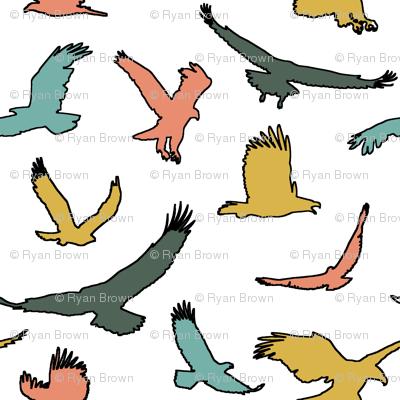 Retro Eagles // Large