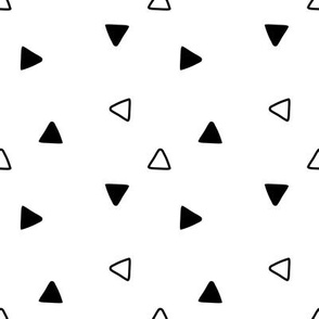 Minimalist triangle pattern