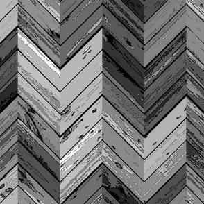 Wood Parquetry - Gray