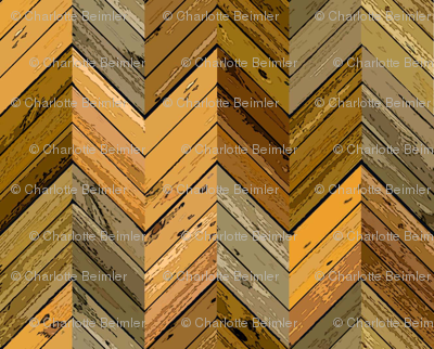 Wood Parquetry - Sepia