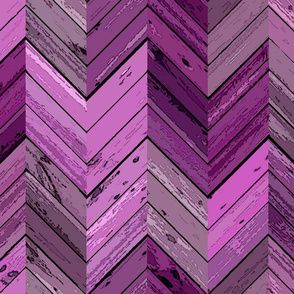 Wood Parquetry - Violet