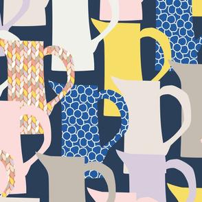 milk jugswith patterns-navy-01