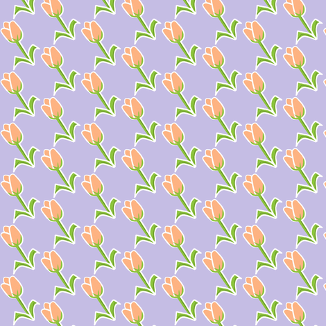 Love Your 2 Lips purple fabric by franbail on Spoonflower - custom fabric