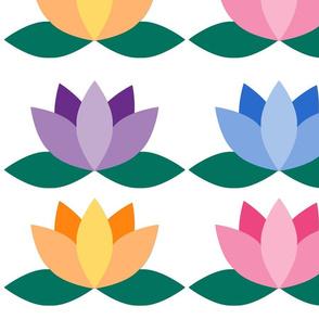 Large Pastel Lotus