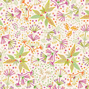 TILE-limolida-flower-meadow-green-purple-orange-spring-blooms