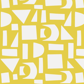 Paper Scissors Stone Yellow