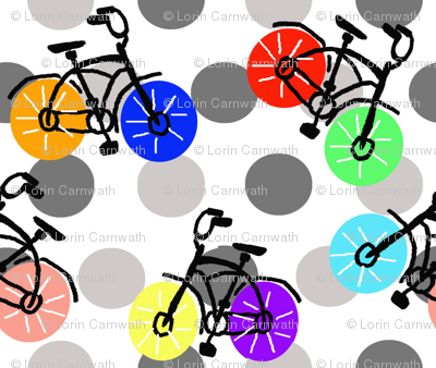 Dotted Bicycles