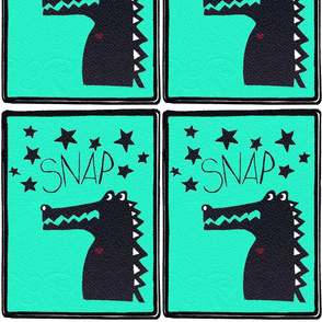 Croc prints
