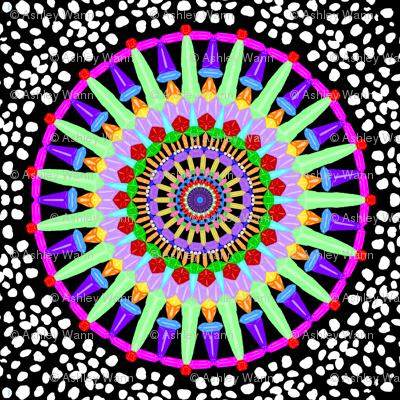 Gemstone Mandala