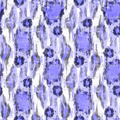 Painterly Animal Print, Violet