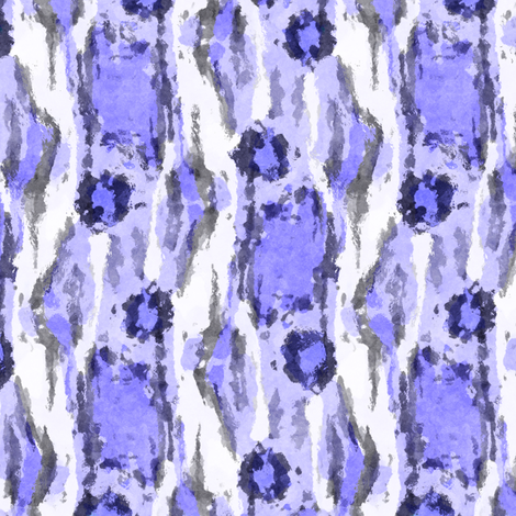 Painterly Animal Print, Violet fabric by palifino on Spoonflower - custom fabric