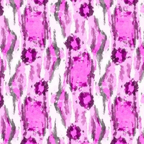 Painterly Animal Print, Orchid