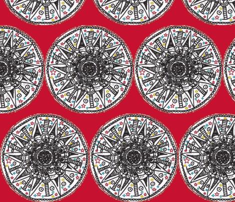 LiLi cycle fabric by jamjax on Spoonflower - custom fabric