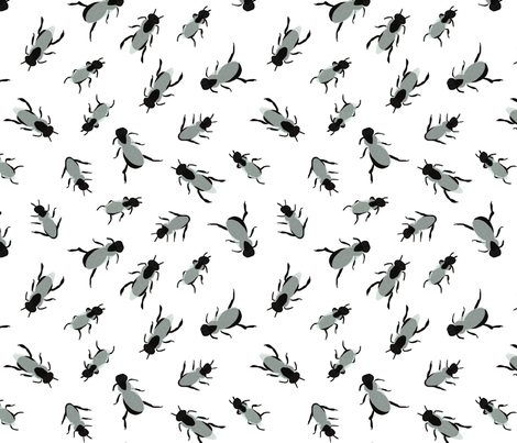 Australian Native Bee Keeping fabric by janetdrummond on Spoonflower - custom fabric