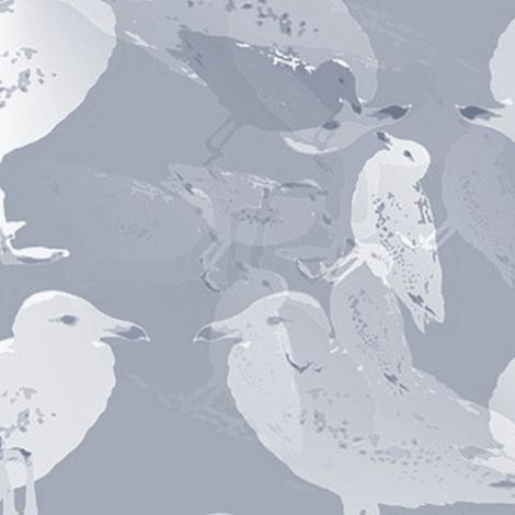 gulls fabric by stofftoy on Spoonflower - custom fabric