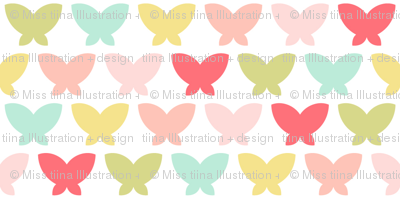 butterflies || sugared spring