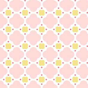 quatrefoil dot || sugared spring