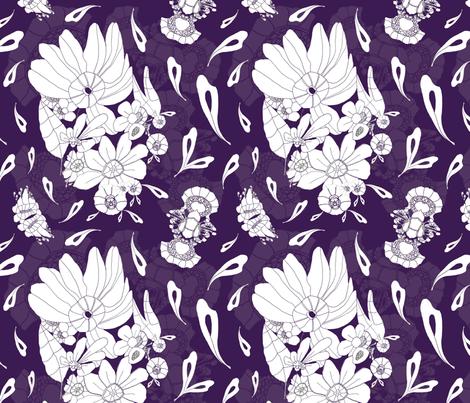 Marc - Purple fabric by hannyhoney on Spoonflower - custom fabric
