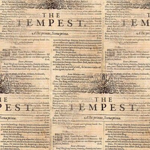 Tempest Shakespeare Text