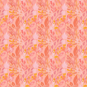 Cinnamon Peach pattern 3in sq