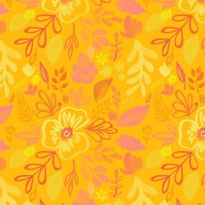 Honey Apricot Pattern