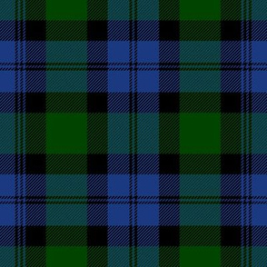 Blackwatch Tartan ~ Jardin and Willow Ware  ~ Medium