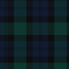 Blackwatch Tartan ~ Traditional ~ Textured