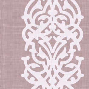 arabesque linen pink powder