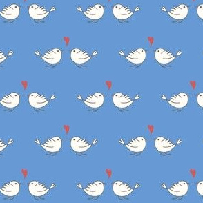 Little birds BLUE
