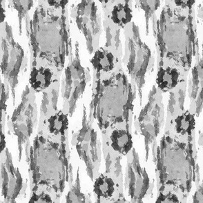 Painterly Animal Print, Gray tones