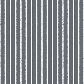 1382_Gray with White Vertical Stripes