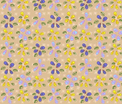 Meadow fabric by doodlem on Spoonflower - custom fabric