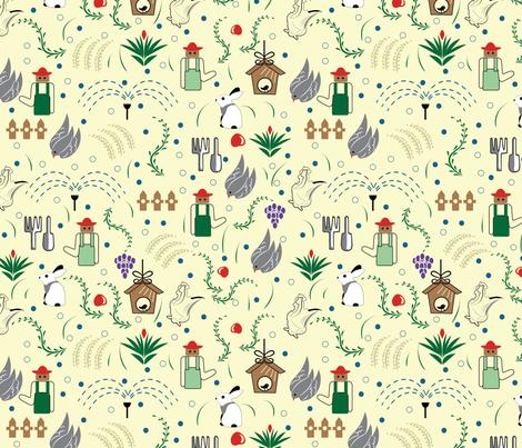 farmhouse fabric by jyoti41 on Spoonflower - custom fabric