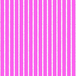 1382_Bright Orchid with White Vertical Stripe