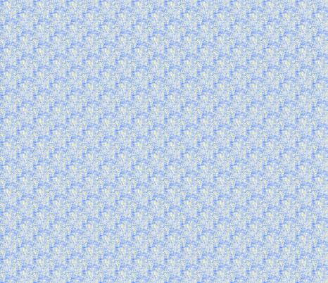 Rippled Blue on Cloudy Cream  fabric by rhondadesigns on Spoonflower - custom fabric