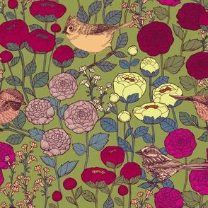 Winter Garden {Velvet} - medium scale