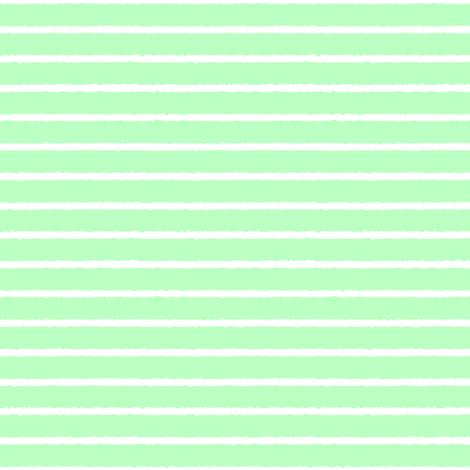 1382_Mint Green Stripe, bbffc2 fabric by palifino on Spoonflower - custom fabric