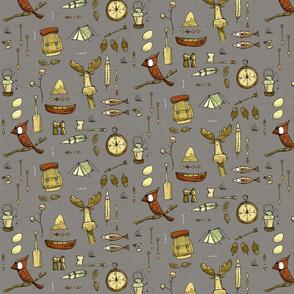 Wild Things - Autumn colours - gray3 (texture)