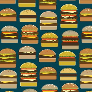 Hamburgers on Navy