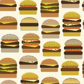 Hamburgers on Cream