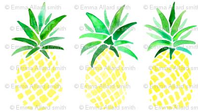 Yellow Pineapples
