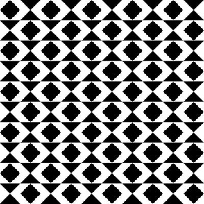 Black-and-white geometry