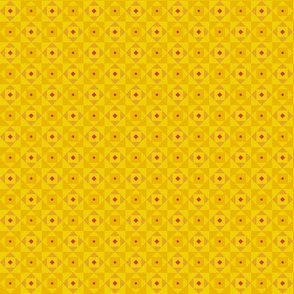 Checkered pattern yellow