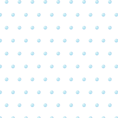 Blue candy polka dot fabric by lub_by_lamb on Spoonflower - custom fabric