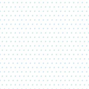 Blue candy polka dot