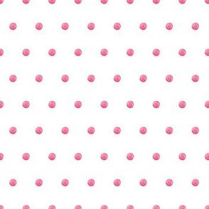 Pink candy polka dot