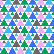 triangles  - GREEN
